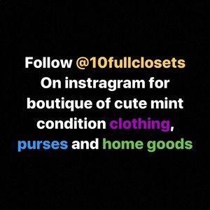 Now selling via Instagram